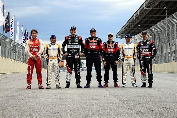 Os sete que disputaram o título até o fim em 2012 não mudarão de time (Foto: Rodrigo Berton/Agência Warm Up)